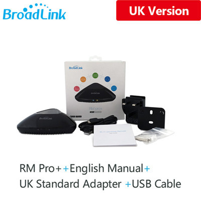 Broadlink RM Pro+ RM Mini 3 2019 New Version Universal Intelligent  IR+RF+Wifi Remote Controller For Ios Android Smart Home