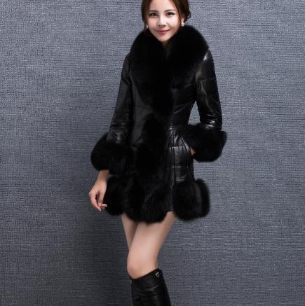 Plus Manteau Outwear 2019 Faux Femme D'hiver Chaud Taille Moelleux Artificielle Femmes Fourrure De La Z132 Veste S6vqT8qd