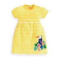 Kidsalon Girls Summer Dress Toddler Cotton Jersey Princess Dress Unicorn Party Baby Girl Clothes Kids Dresses Children Vestidos