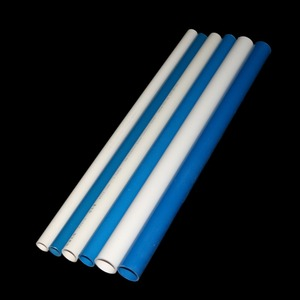 Image 5 - כחול/לבן PVC צינור OD 20mm 25mm 32mm חקלאות גן השקיה צינור דגי טנק מים צינור 48 50cm 1 Pcs