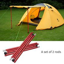 GeerTop Aluminum Adjustable Tent Pole Telescopic Tarp Poles Camping Accessories Awning Support Rods for Outdoor Hiking Hammock
