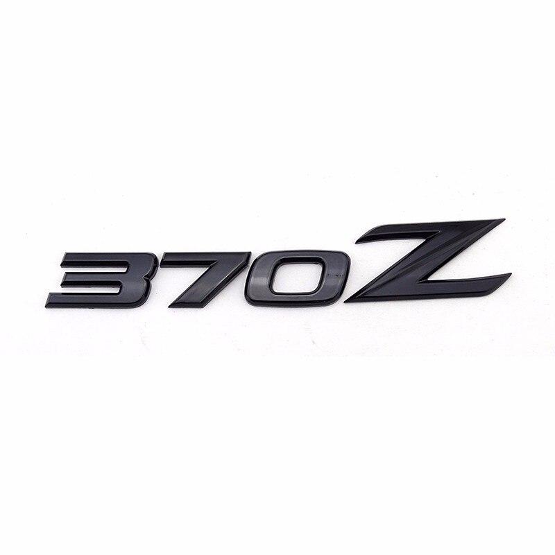 Black 370z Symbol Abs Car Auto Emblem Badge Stickers For Nissan 370z
