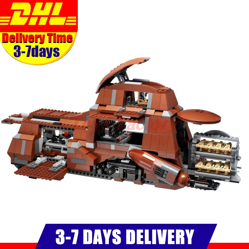 IN Stock DHL Lepin 05069 UCS Series The Federation Transportation Tank MTT Children Building Blocks Bricks Toys Model 7662 dhl lepin 18032 2932 pcs the mountain cave my worlds model building kit blocks bricks children toys clone21137 in stock