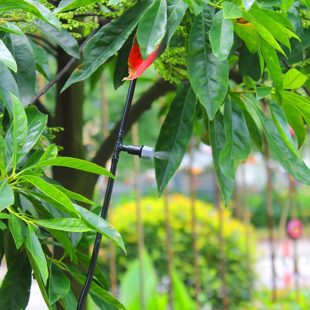 AHUYML 1Set Diy Drip Irrigation System Plant Automatic Self Watering Garden Hose Micro Drip Garden Watering System Control Spray