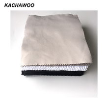 Kachawoo 175mm x 145mm 100PCS needle 1 lens cleaning wipes for glasses accessories black white gray glasses cleaning cloth