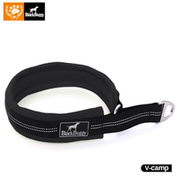 Adjustable Nylon Dog Collars Mesh Padded Pet Collar Reflective Durable Heavy Duty For Dogs Training Outdoor