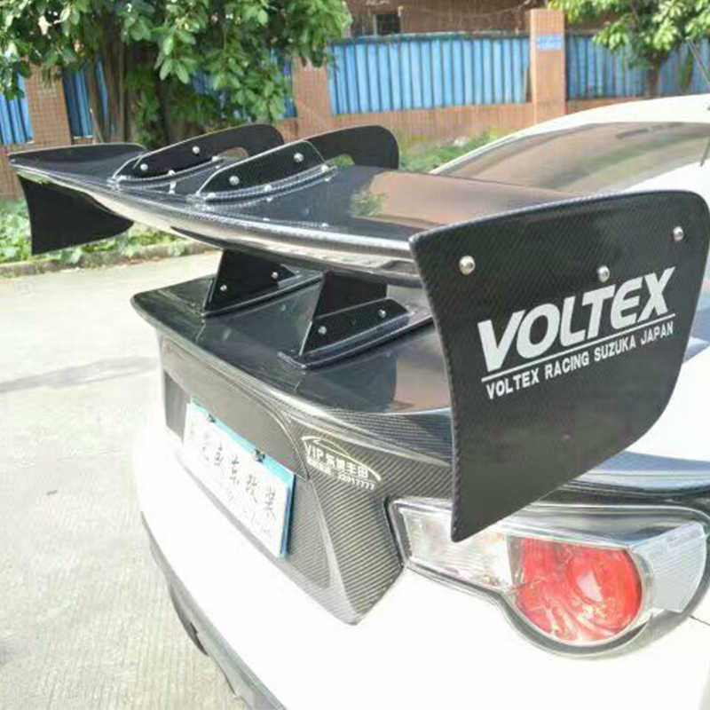 Universal Voltex Style Car-Styling Rear Trunk Lip Spoiler Wing for BMW Mercedes Benz Volkswagen Audi Nissan Toyota