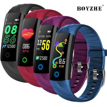 Smart IP68 BraceletWaterproof Pedometer Heart Rate Blood Oxygen Monitor Fitness Tracker Smart Wristband Multi Sport Smart Band цена 2017