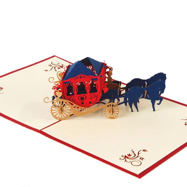 3D Carriage Postcard