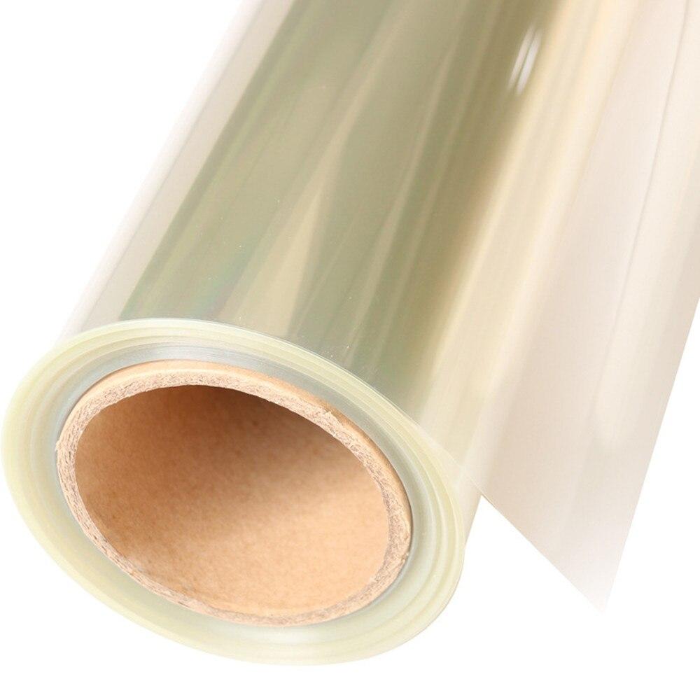 SUNICE 16mil (0.4mm) Film de sécurité Anti éclatement fenêtre verre Film de protection bâtiment fenêtre protecteur Typhoon 1.52*20M