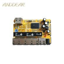 OEM/ODM PCBA Industrielle schalter modulee5 Port 10/100/100 0 M unmanaged ethernet netzwerk switch ethernet hub verwaltet poe schalter