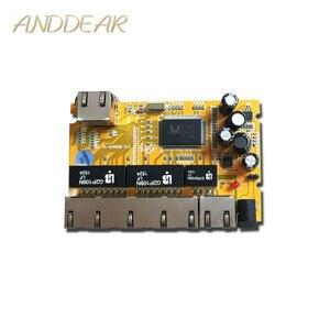 Image 1 - OEM/ODM PCBA Industrielle schalter modulee5 Port 10/100/100 0 M unmanaged ethernet netzwerk switch ethernet hub verwaltet poe schalter