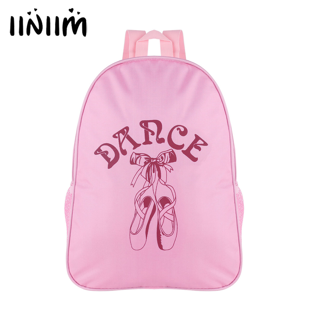 Kids Girls Lovely Ballet Backpack Fashion Ballet Dance Bag Students School Backpack for Dancing Toe Shoes Print Shoulder Bag