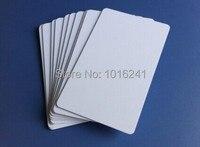 Blank Inkjet Printable White ID Cards PVC Cards 230pcs Bag Printed By Epson R230 R290 R330