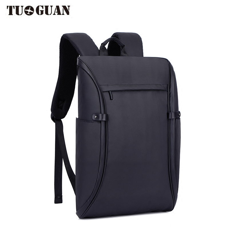 TUGUAN Fashion Men Laptop Backpack Waterproof Anti Theft USB Charging Back Pack Schoolbag Business Computer Bags for Male Boy tuguan notebook bag external usb anti theft charging waterproof laptop backpack for men and women business travel computer bag