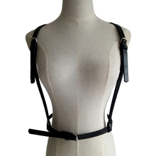 New Women's bra Belt straps body harness sexy leather metal gothic pentagram cage cool bondage leather harness accessories комод mhliving harness collection 001004