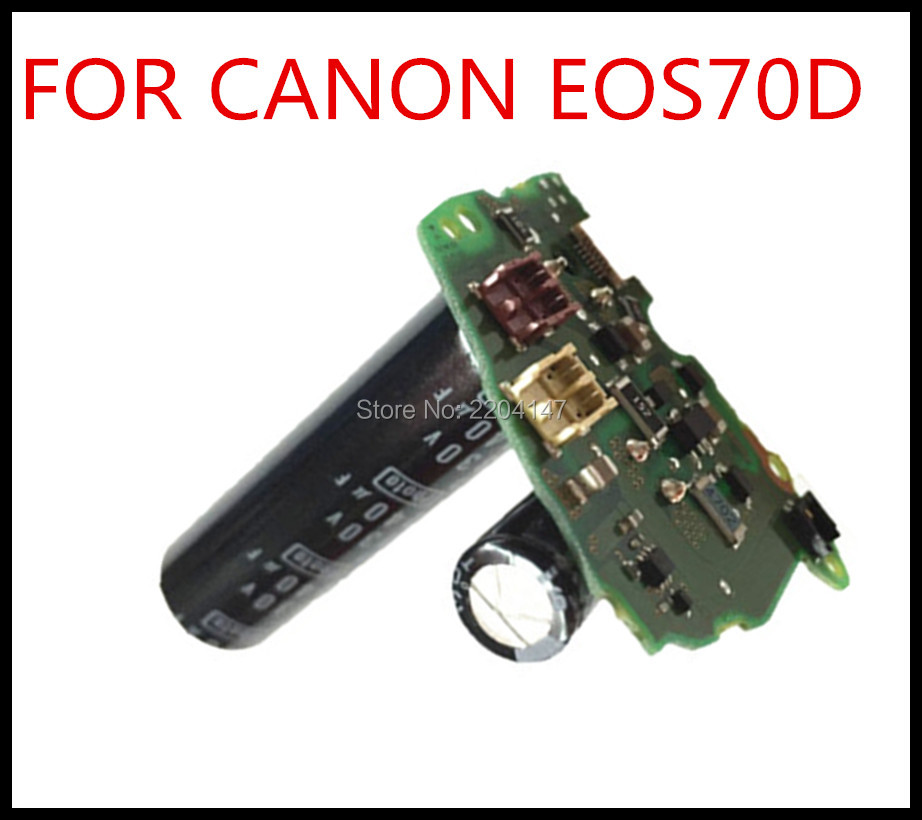 100% NEW Original  Repair And Replacement Parts For Canon EOS 70D Flash Board PCB Flash Power Drive Board New