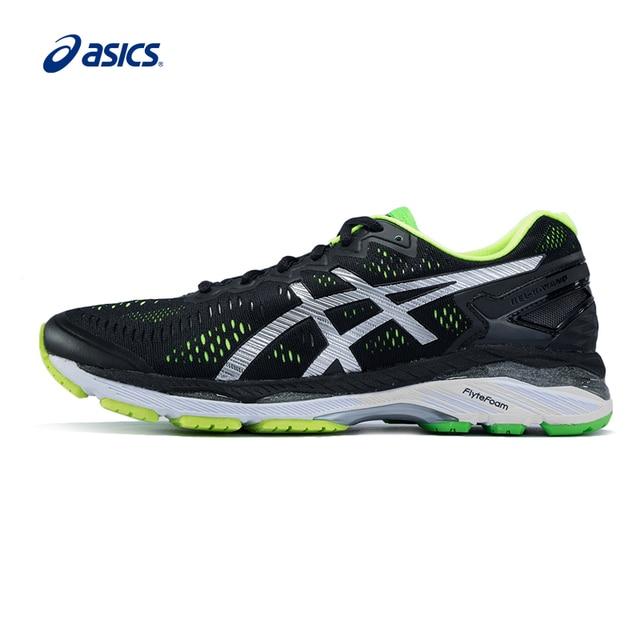 US $189.9  Originele Asics Schoenen GEL KAYANO 23 Ademend Kussen Loopschoenen Lichtgewicht Sport Schoenen Sneakers gratis verzending in Originele