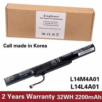 KingSener Korea Cell L14M4A01 Battery for LENOVO IdeaPad V4000 Y50C Z41 Z51 Z41-70 Z51-70 L14M4E01 L14S4A01 L14L4A01 L14L4E01 genuine battery for lenovo ideapad u460 u460a l09c8y22 l09n8y22 l09n8t22