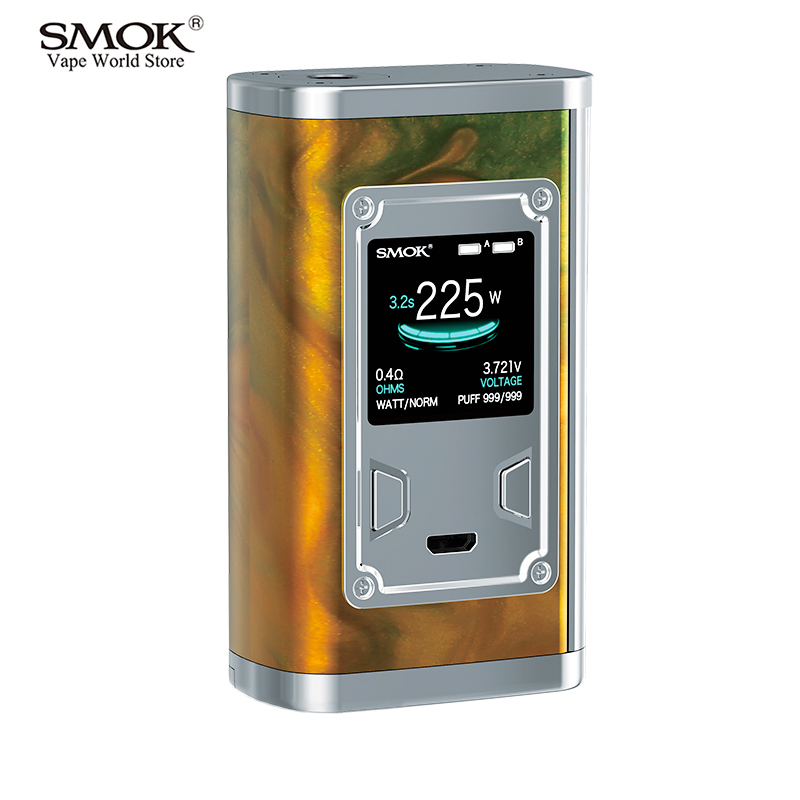 Vape Original SMOK Majesty Resin Vape Box Mod Electronic Cigarette Vaporizer Mech Mod VS SMOK Alien Box Mod eVic VTC Mini S230 original lost vape triade dna 250 box mod