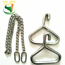 Durable SS304 Cow Obstetric Apparatus, Goat Forceps, Cattle Delivery Instruments for Dairy Farm obstetric care