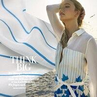Giấy thuyền in ấn silk vải mềm váy vải vải lụa crepe de chine hữu cơ tinh khiết silk vải bán buôn vải lụa