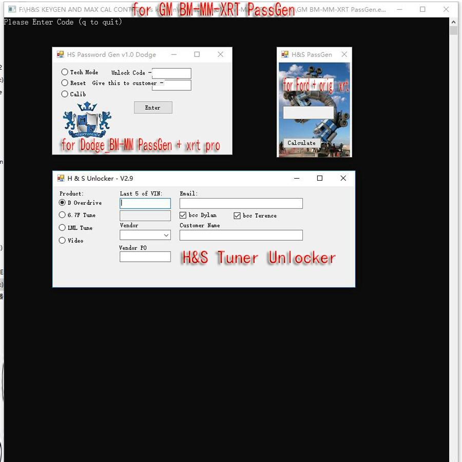 H And S Tuner >> Us 69 9 H S Tuner Unlocker Keygen G M Bm Mm Xrt Passgen Calculator For Ford Orig Hs For Dodge 4 In 1 Reset Vin Code Maxx Overdrive In Software From