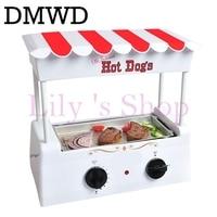 Electric Sausage Machine Multifunction American hot dog kebab machine teppanyaki barbecue grill steak DIY hamburger baking maker