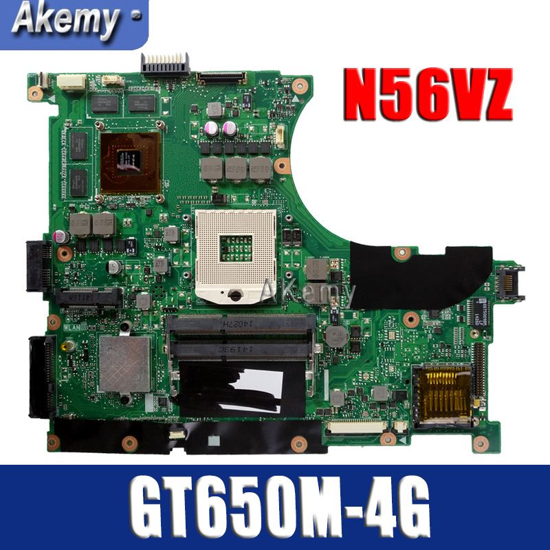 Amazoon  N56VZ/N56VM Laptop motherboard for ASUS N56VB N56VM N56VZ N56VJ N56V Test original mainboard GT650M-4G Support i3 i5 i7Amazoon  N56VZ/N56VM Laptop motherboard for ASUS N56VB N56VM N56VZ N56VJ N56V Test original mainboard GT650M-4G Support i3 i5 i7