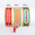 Friendship Bracelet Handmade Woven Rope String Hippy Boho Embroidery Cotton Friendship Bracelets For Women And Men Hot Selling