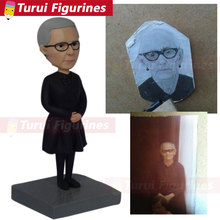 vintage polymer clay bobblehead That Look Like You cake toppers customized 3d figurine maker sculpture old photo to figurines