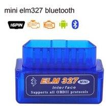 Мини ELM 327, mini 327 bluetooth, elm327 работает на Android Крутящий момент Профессиональный OBD II obd 2 сканер инструмент