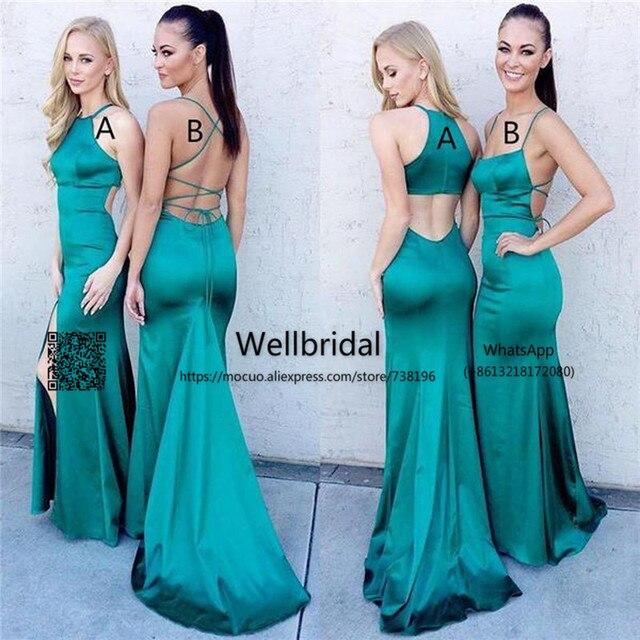 Unique 2017 Merm Bridesmaid Dresses with AB Design Wedding Party Dress  wedding guest dress Formal bridesmaid dress cd05a1541b26