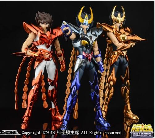 GT Phoniex Ikki V3 Final Cloth Metal Armor GREAT TOYS OCE EX Bronze Saint Seiya Myth Cloth Action Figure