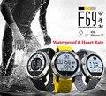 DHL 20 ШТ. F69 Водонепроницаемый Smart Watch Heart Rate IP68 Бассейн Интеллектуальный Спорт Hplus Smartwatch Браслет для IOS Android Phone