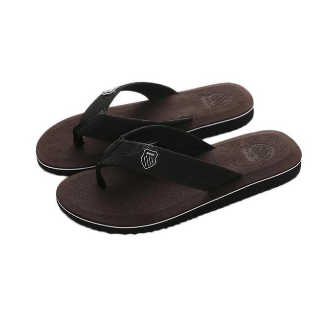 4be7089b14b2 KLV Men Sports Beach Bathing Shoes Mens Summer Flip-flops Slippers Beach  Sandals Indoor Outdoor Shoes 2018  A40