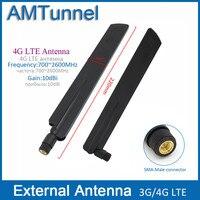 4G Antenna 2pcs 4g LTE External Antenna 10dBi 3G Router Antenna 3G Indoor Antenna With SMA