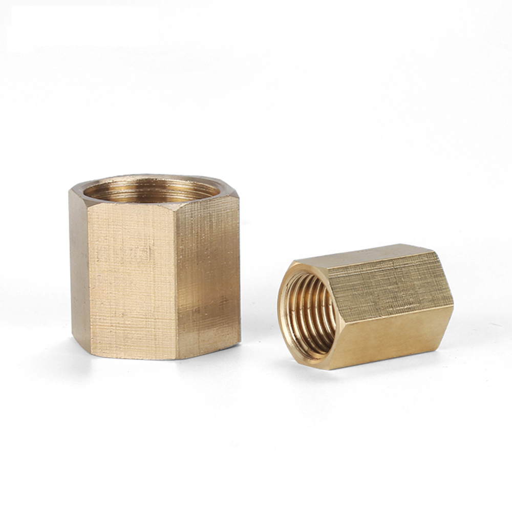 1 8 quot TO 1 4 quot 3 8 quot 1 2 quot 3 4 quot BSP Brass Copper Hose Pipe Fitting Hex Coupling Coupler Fast Connetor Female Thread in Pipe Fittings from Home Improvement