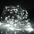 Resistente al agua 10 M de Alambre de Cobre LED Cadena de Luz Multicolor RGB Alimentación USB Operado LLEVÓ la Luz de Hadas de Navidad Home Party Decor