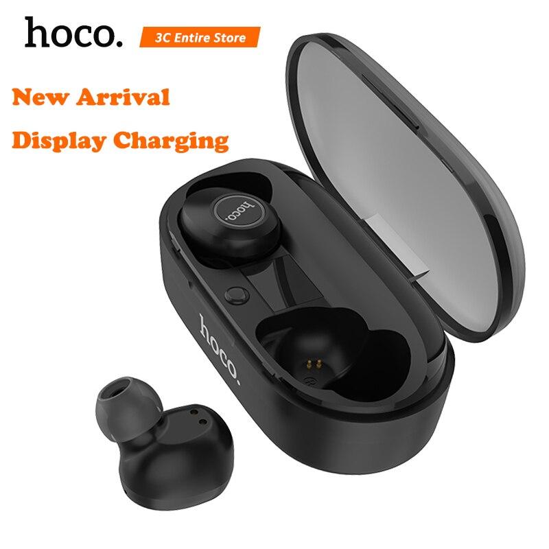 HOCO Original Bluetooth écouteur sans fil mains libres casque Mini dans l'oreille joyeux son Bluetooth 5.0 écouteurs date