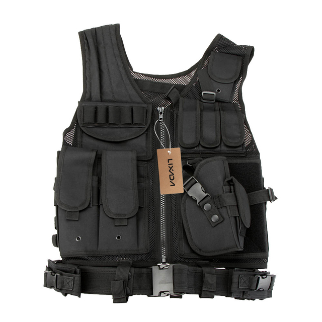 Men CS Vest Molle Armor Camouflage Hunting Vest Outdoor Military Tactical Vest Army Tactical Hunting Vest Body Outdoor Jungle