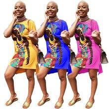 Африканская одежда, платья сексуальные ретро национальные большие благоприятные Дашики Модные свободные