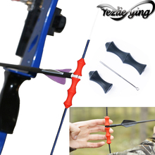 Archery Accessories Bowstring Finger Saver Tab Bow Silicone Release Recurve