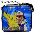 Pokemon Pikachu Refrigerador Aislado Bolsa de Almuerzo Merienda tote + Lunch Box & Bottle V2