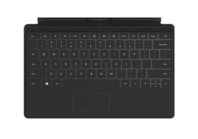 Support du boîtier et pavé tactile amovible officiel amovible pour clavier Microsoft Surface RT RT2 2 Pro Pro2 2
