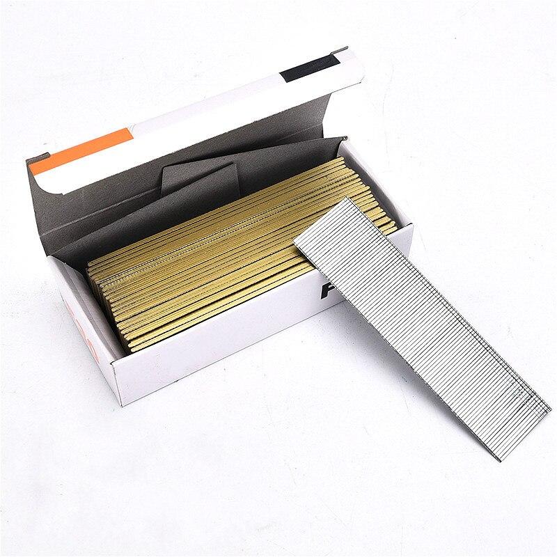 10000pcs Straight Nail Gas Nails 10-50MM Air Nail Gun Screw Galvanized Engineering Wood Nail For Electric