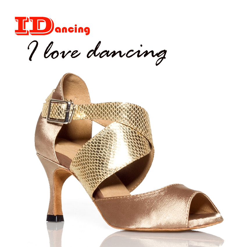 IDancing 2018 new latin dance shoes waltz ballroom Cross straps girls shoes party shoes hot sale plus size free shippingIDancing 2018 new latin dance shoes waltz ballroom Cross straps girls shoes party shoes hot sale plus size free shipping