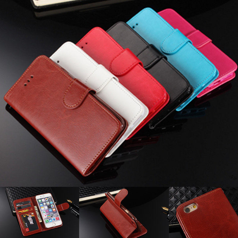 Luxurious Wallet Standing Leather font b Phone b font font b Cover b font For iPhone