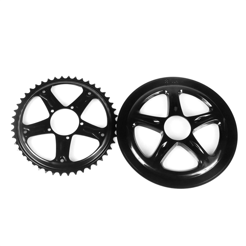 Image 5 - Bafang BBS01 BBS02 Electric Bike Chain Wheel Replacement Chainwheel Guard  44T 46T 48T 52T Chain Teeth for BBS01B BBS02B MotorElectric Bicycle Accessories   -