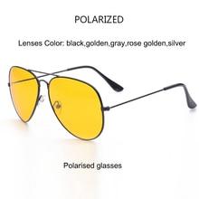 Night Vision Polarized Goggles Anti-Glare Sunglasses for Men & Women Driving Glasses
